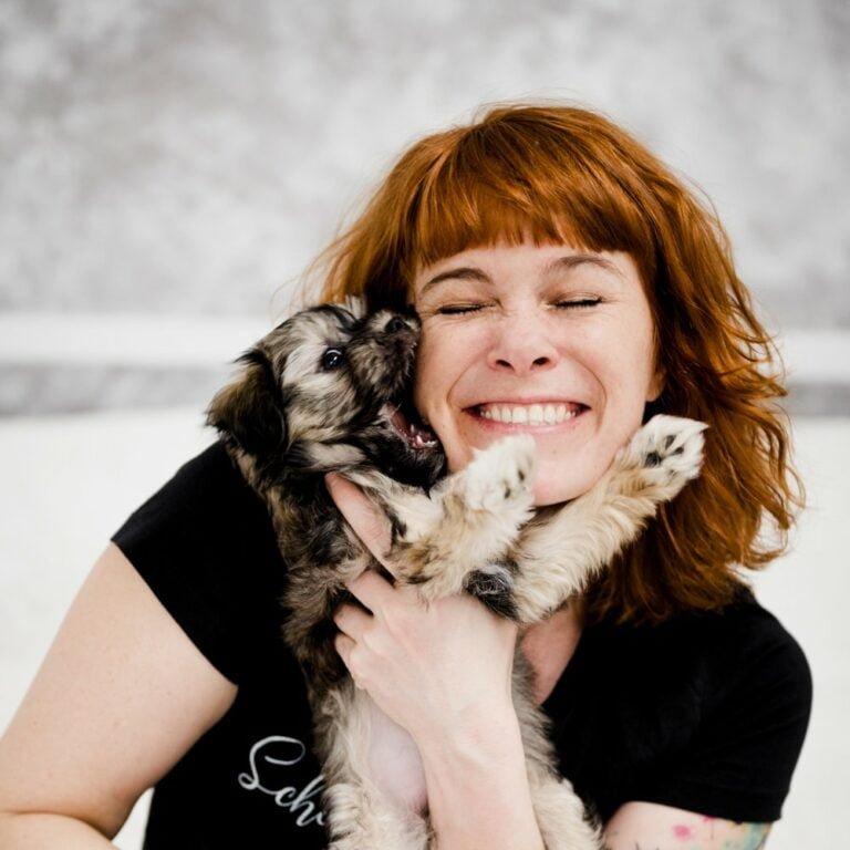 Miriam blitzt Miriam Mehlman Fotografie Hund