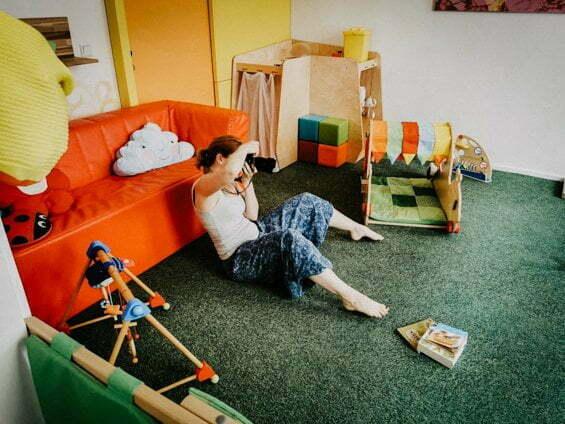 Miriam Mehlman Fotografie Making Of
